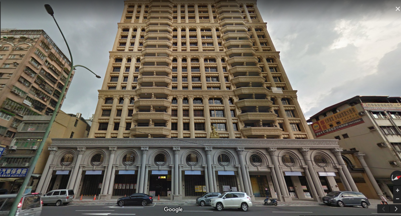 新店巴黎皇宮。圖/取自google map