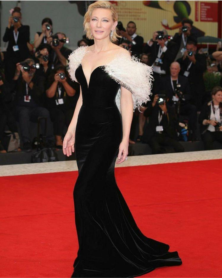 凱特布蘭琪可說是Giorgio Armani的紅毯最佳代言人。圖/取自IG