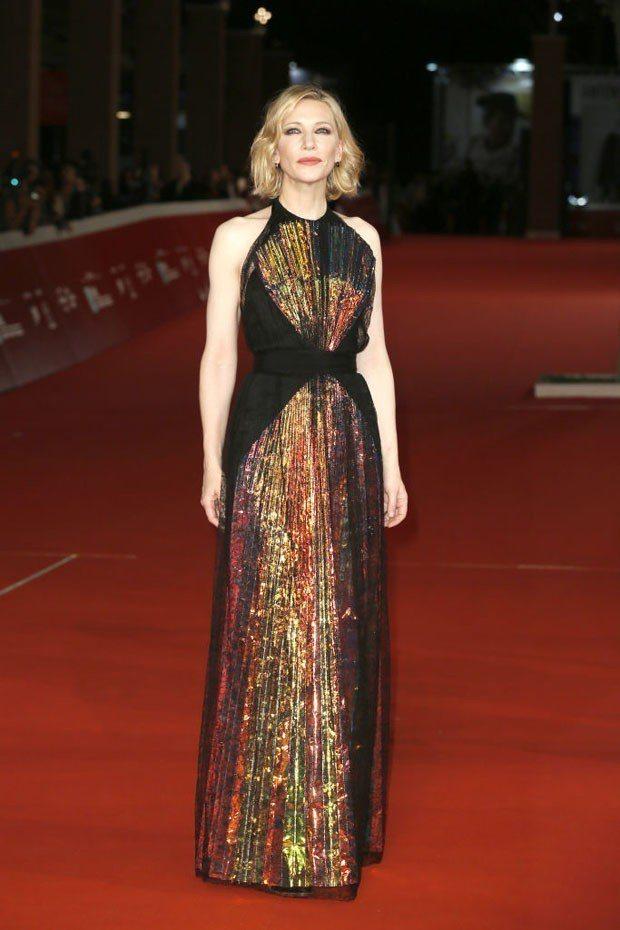 凱特布蘭琪身穿Maison Margiela高級訂製服。圖/取自pinteres...