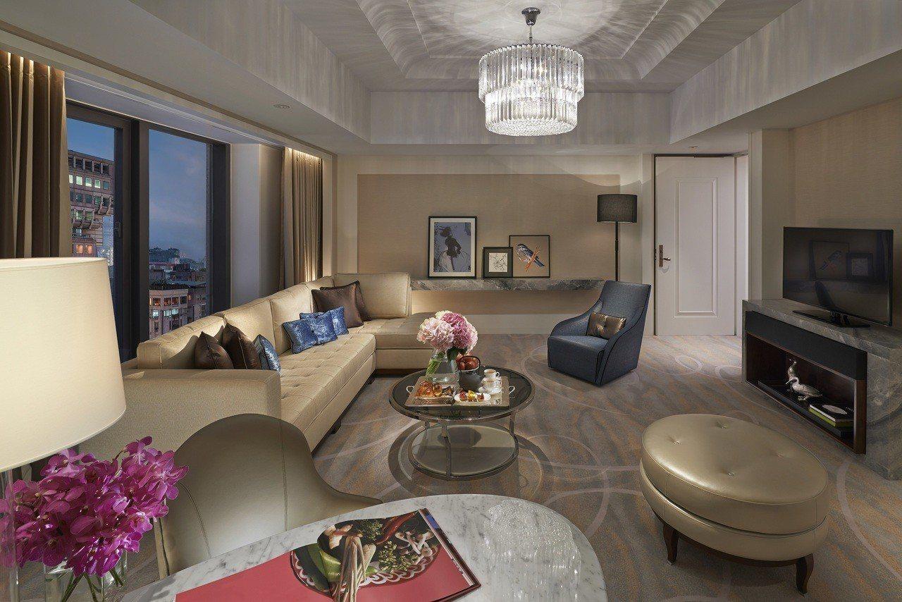 台北文華東方酒店推出43折到6折不等的優惠住宿券。圖/台北文華東方酒店提供