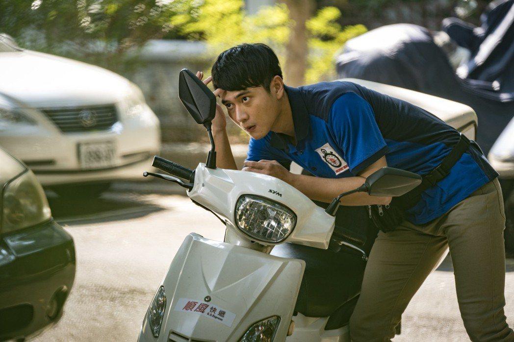 劉冠廷在「小美」中與女主角饒星星有激情床戲。圖/甲上提供