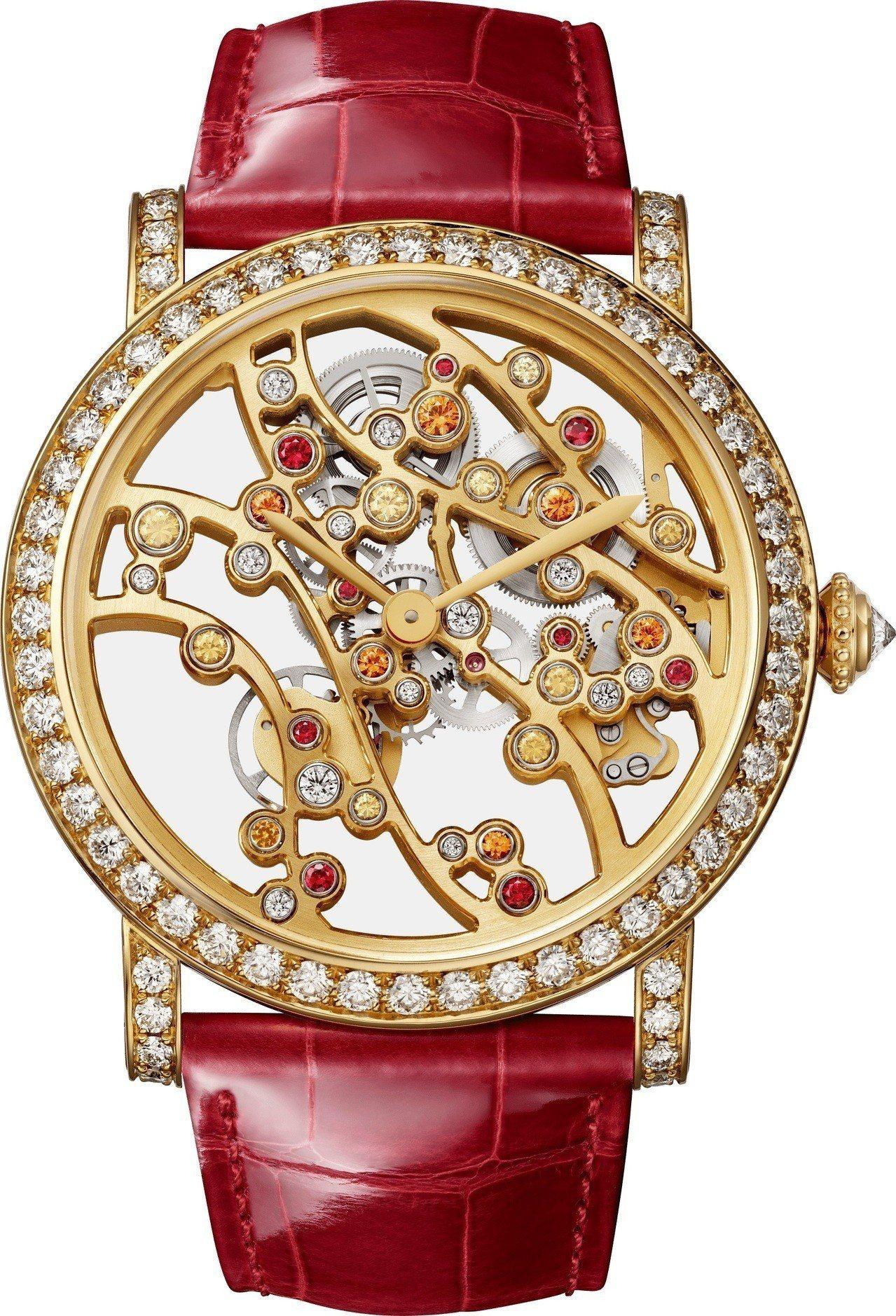 卡地亞 JARDINS JAPONAIS 系列秋季複雜腕表, 364萬元,全球限...