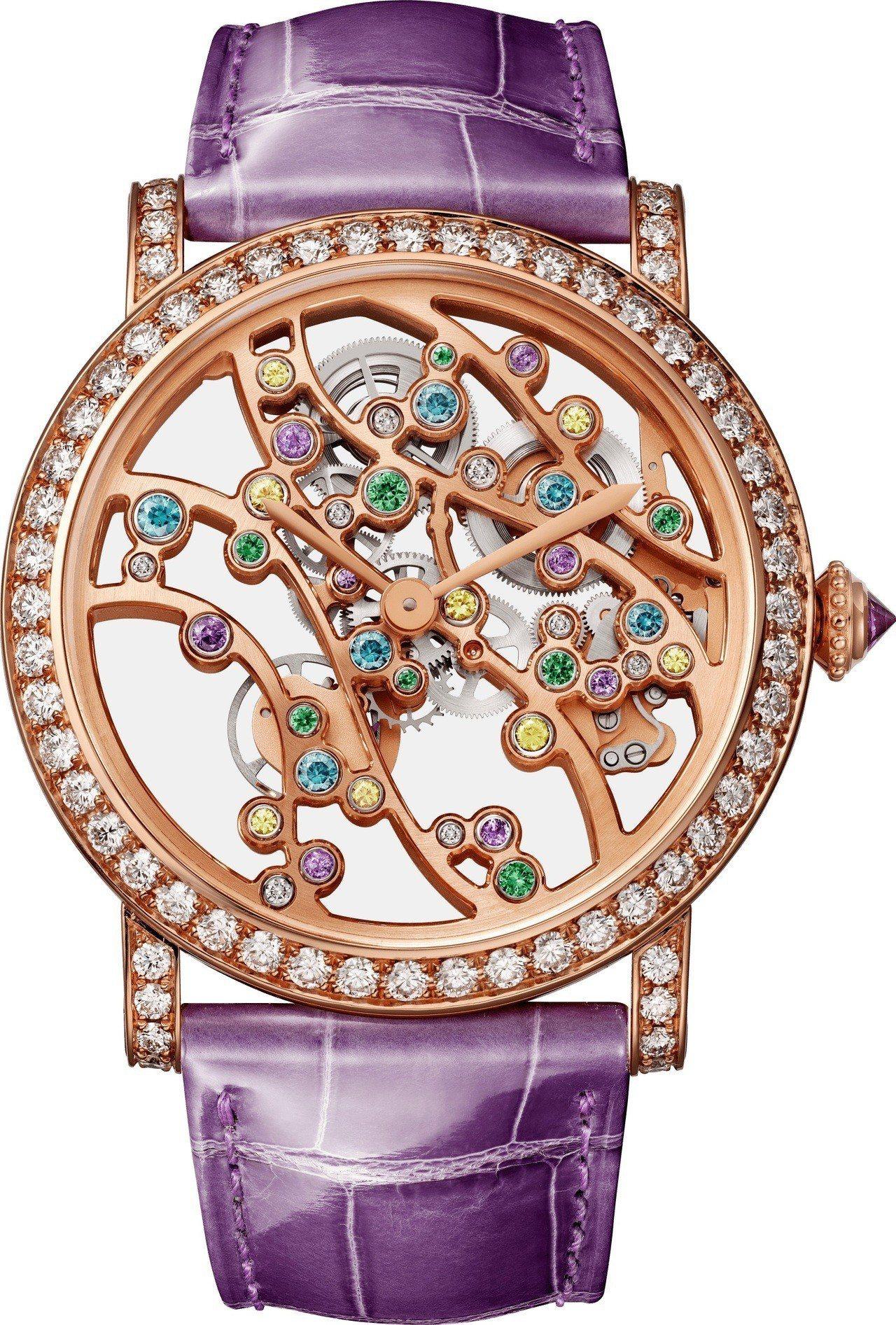 卡地亞 JARDINS JAPONAIS 系列夏季複雜腕表,364萬元,全球限量...