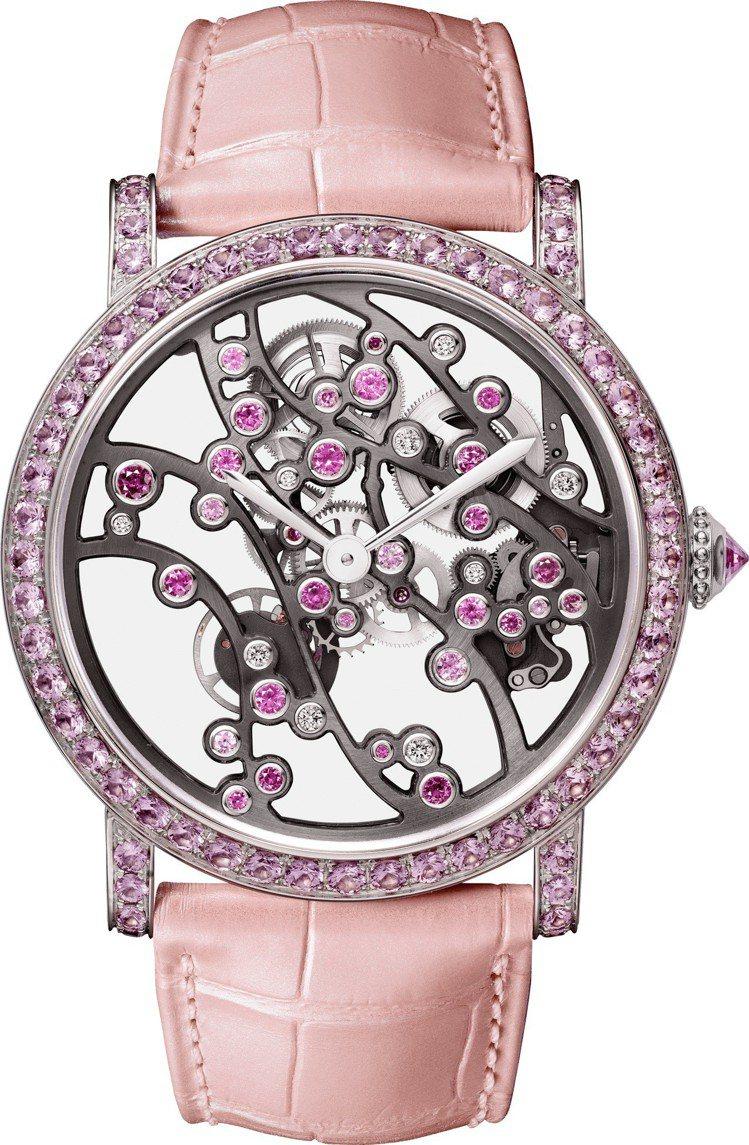 卡地亞 JARDINS JAPONAIS 系列春季複雜腕表, 364萬元,全球限...