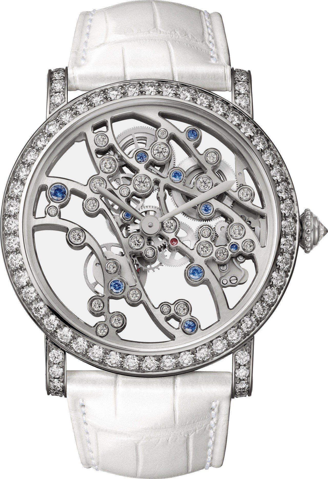 卡地亞 JARDINS JAPONAIS 系列冬季複雜腕表, 364萬元,全球限...