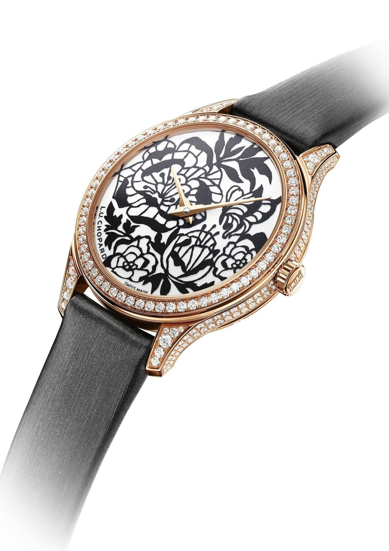 蕭邦L.U.C XP Esprit de Fleurier Peony腕表,34...