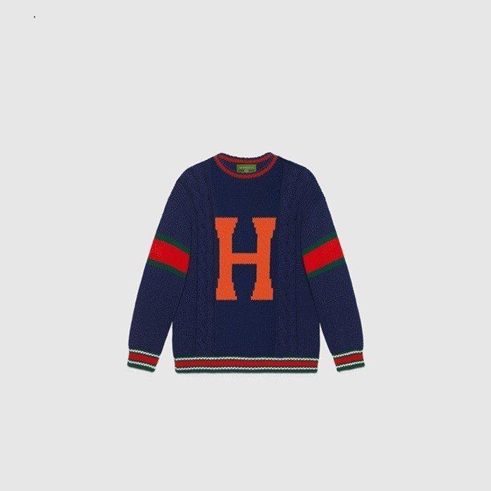 Gucci全新推出DIY訂製針織衫系列。圖/摘自Gucci官網