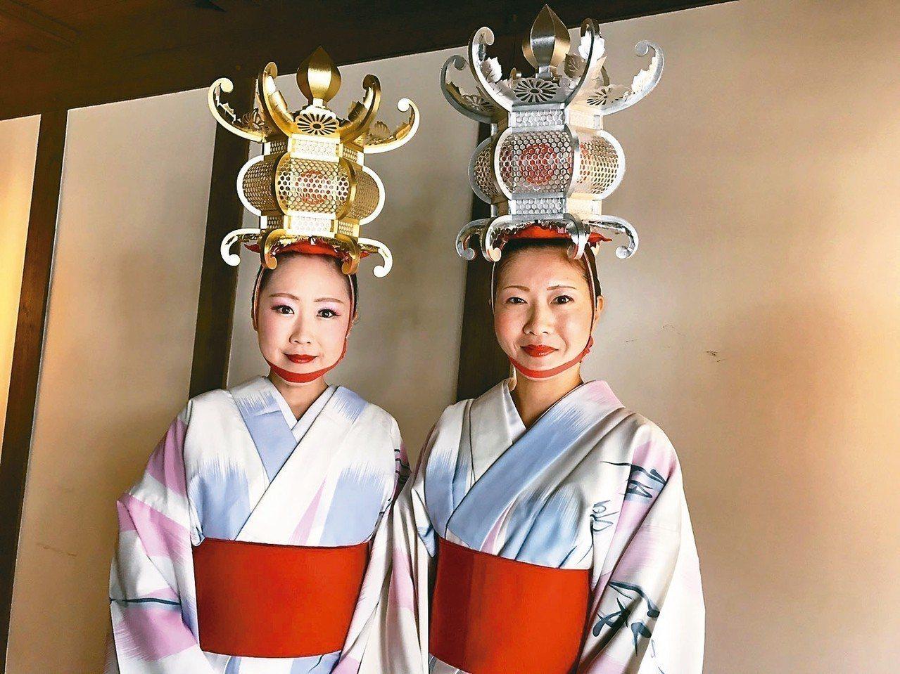 「燈籠舞」可說是熊本縣內最具代表性的祭典之一。 記者葉卉軒/攝影