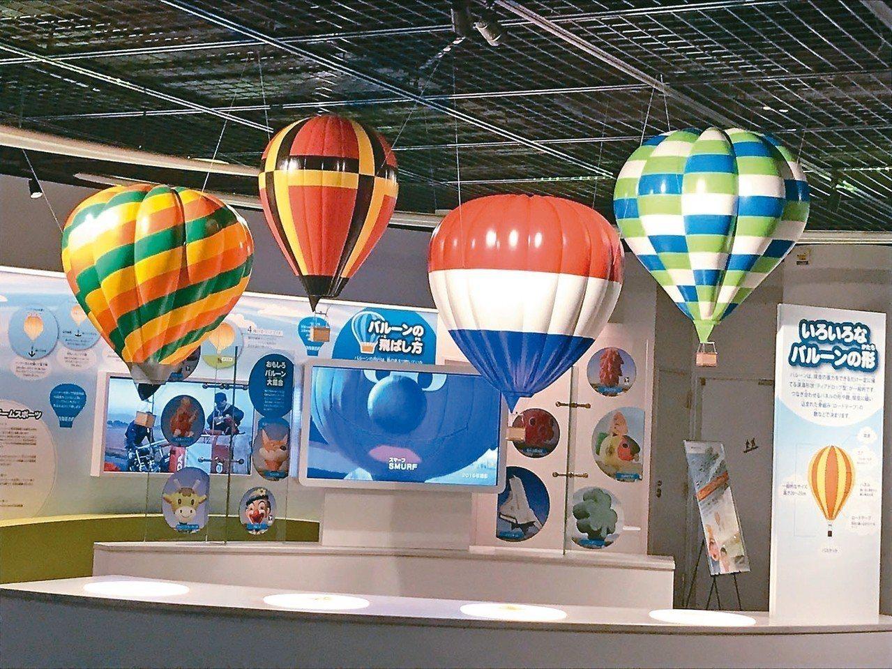 「佐賀熱氣球博物館」是日本首間熱氣球博物館。 記者葉卉軒/攝影