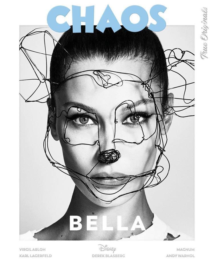 名模 Bella Hadid。圖/擷自instagram
