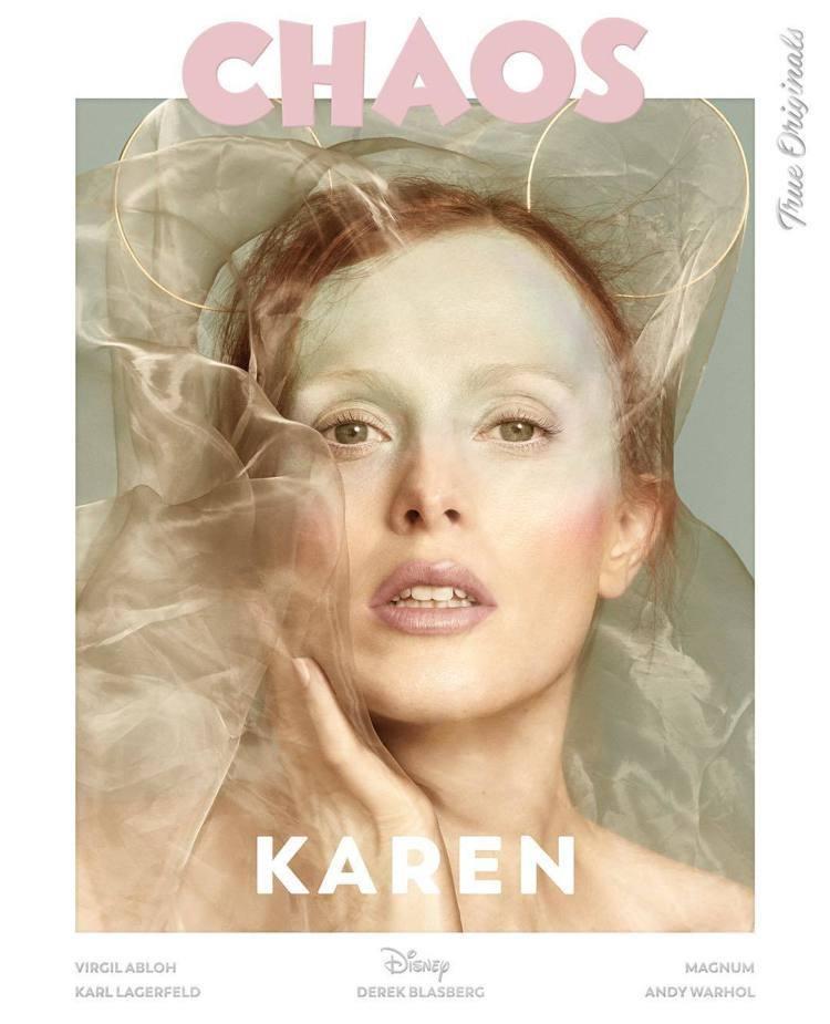 CHAOS邀請時尚名人拍米奇封面。圖/擷自instagram