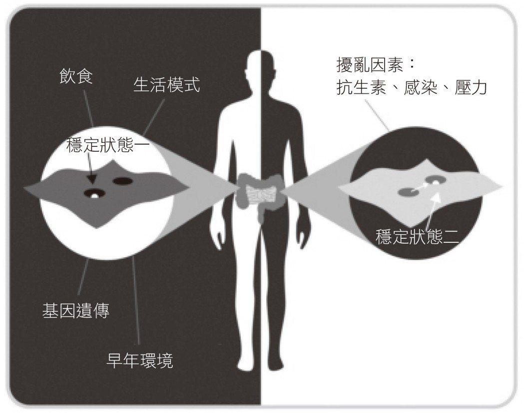 圖/摘自《腸道.大腦.腸道菌:飲食會改變你的情緒、直覺和大腦健康》