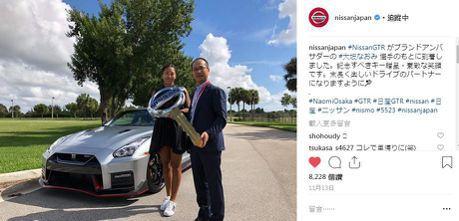 2018年美網冠軍xNissan全球品牌大使 大阪直美獲贈Nissan GT-R NISMO