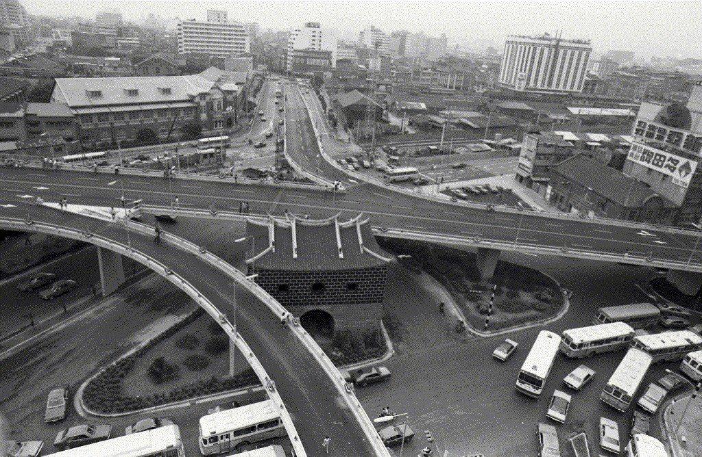 北門,攝於1978年。 圖/聯合報系資料照