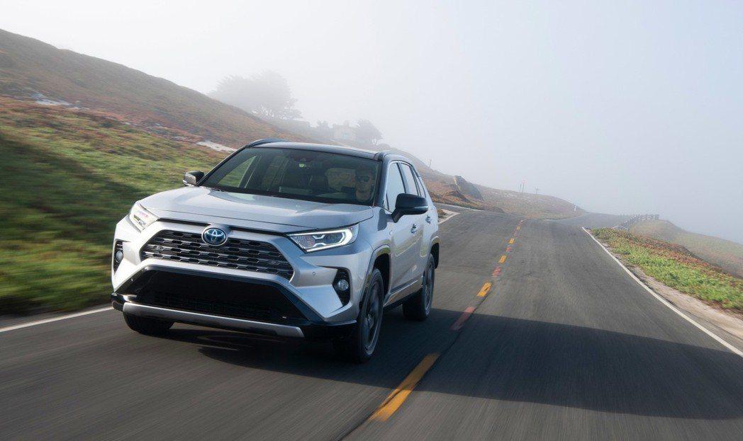新世代美規Toyota RAV4 Hybrid車型預計在明年三月下旬才會正式發售...
