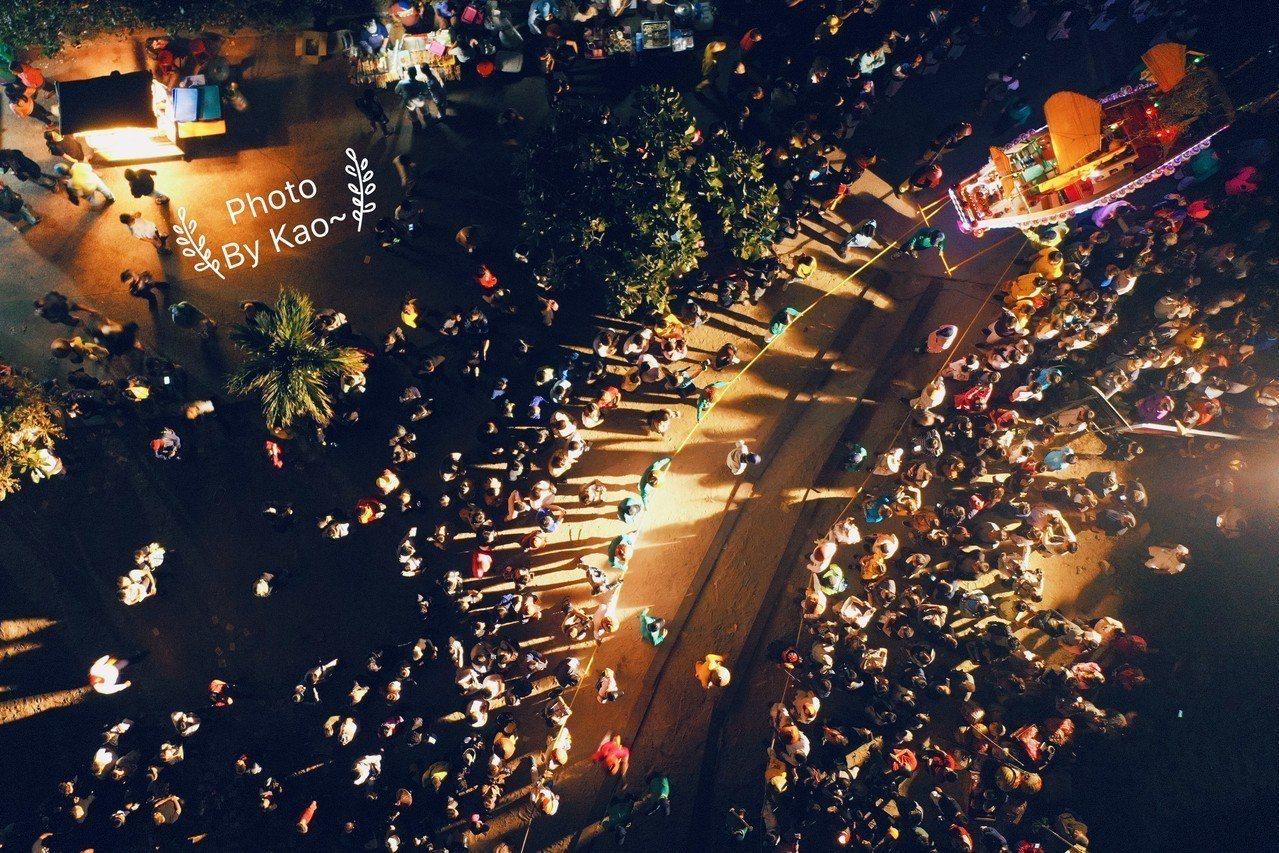 圖/高振銘、飛岳台灣。空中攝影。