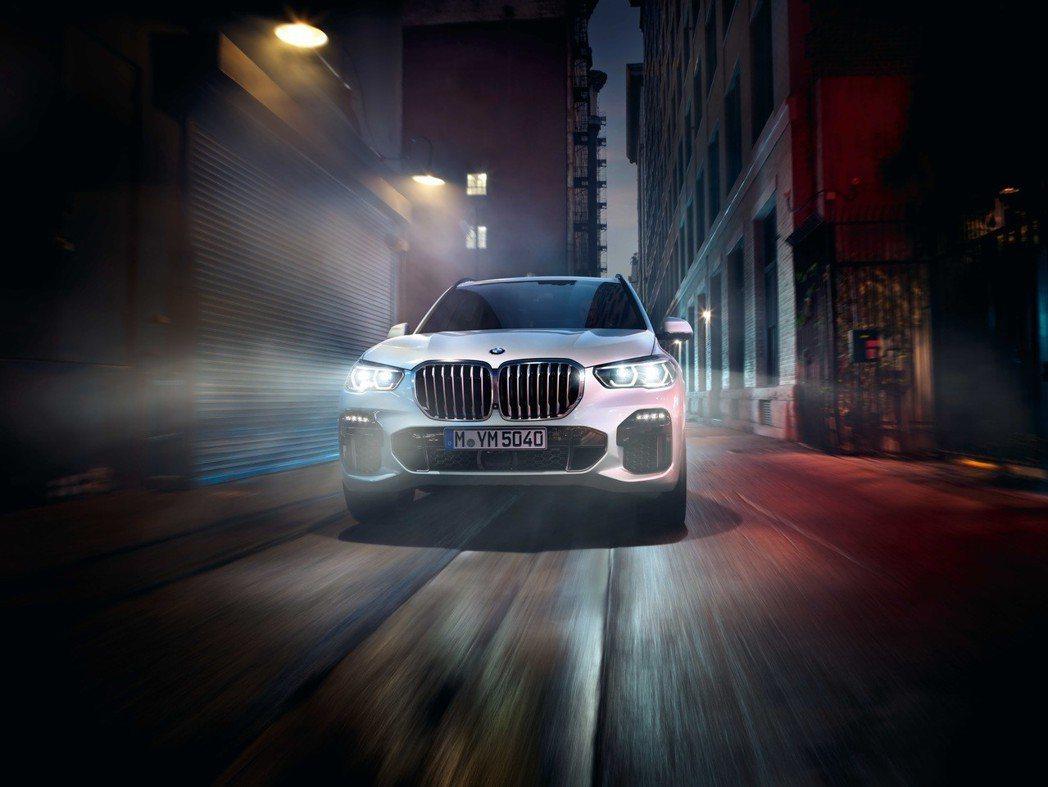 全新世代BMW X5引領未來智能科技趨勢。 圖/BMW提供