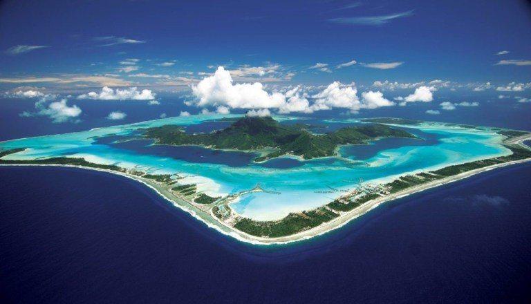 美麗的波拉波拉島 (Photo creidt: welcomeTAHITI)