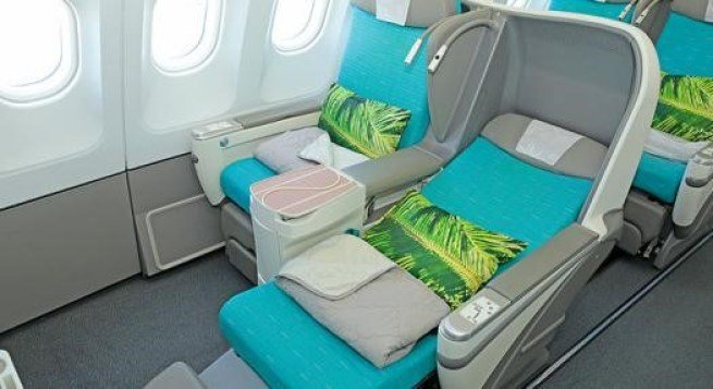 大溪地航空 (Air Tahiti Nui) 的商務艙-Poerava Busi...