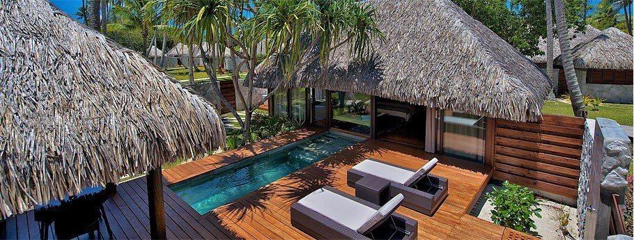 有泳池的花園別墅房型 (Photo Credit: Hotel Kia Ora)