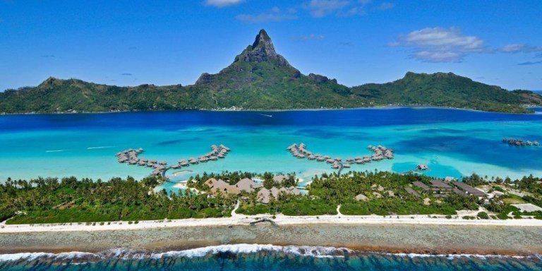 波拉波拉島無論甚麼時候看,都真的好美! 圖文來自於:TripPlus