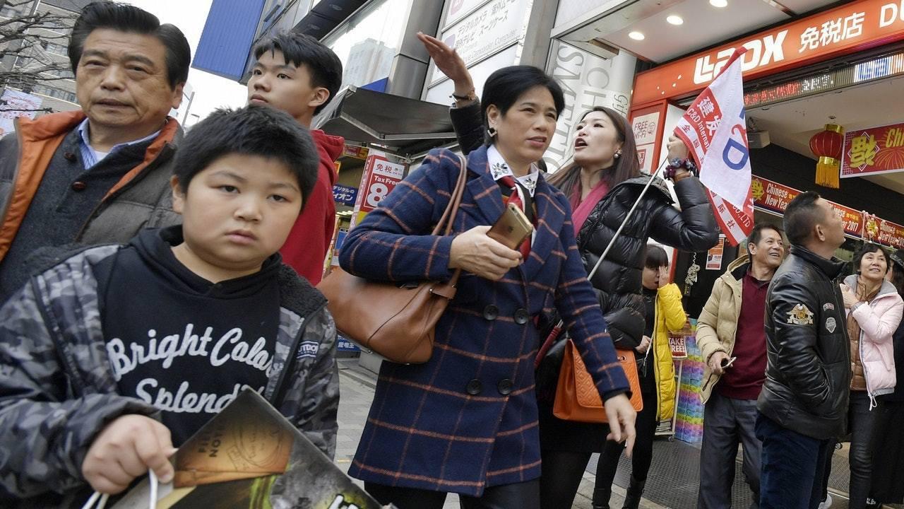 今年陸客赴日遊,預料破800萬人次。(香港01)