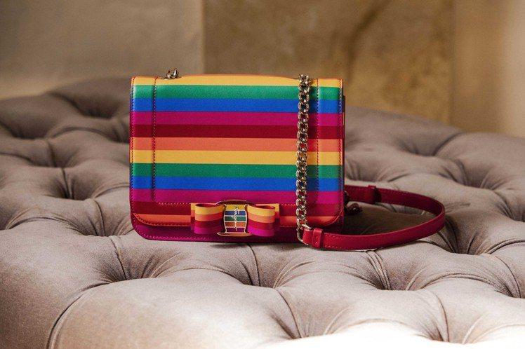 「Catch the Rainbow」聚焦在繽紛的彩虹設計元素。圖/Ferrag...