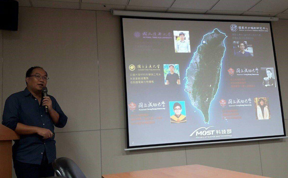 成大物理系教授吳忠霖與同步輻射研究中心博士陳家浩組成國內研究團隊,成功地研發出僅...
