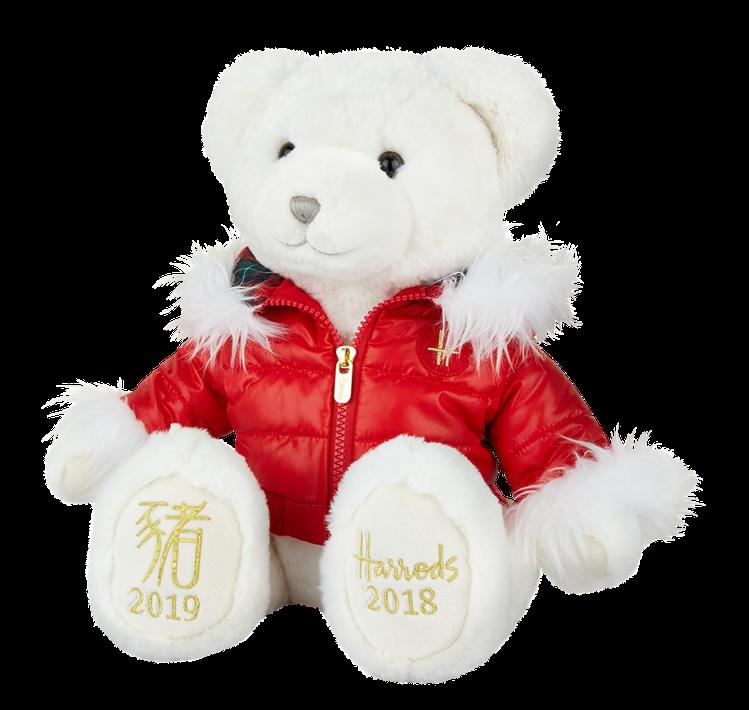 2018跨年年度熊─奧利弗,推薦價1,980元(12吋)(全球限量2000隻)。...