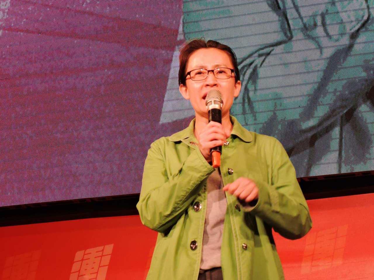 民進黨立委蕭美琴上月11日晚間為蘇貞昌站台助選。記者陳珮琦/攝影