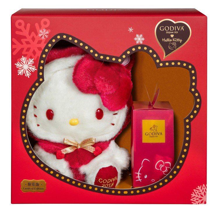 Hello Kitty限量版G Cube松露巧克力禮盒,售價1,950元。圖/G...