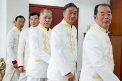 中國花樣爺爺施「模」法