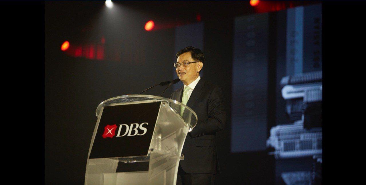 新加坡財政部長王瑞杰。 中央社