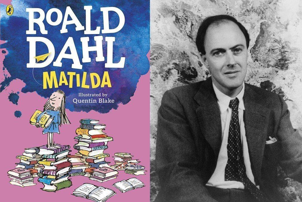 羅德.達爾(Roald Dahl,圖右)創作的《小魔女瑪蒂達》於1988年出版,...
