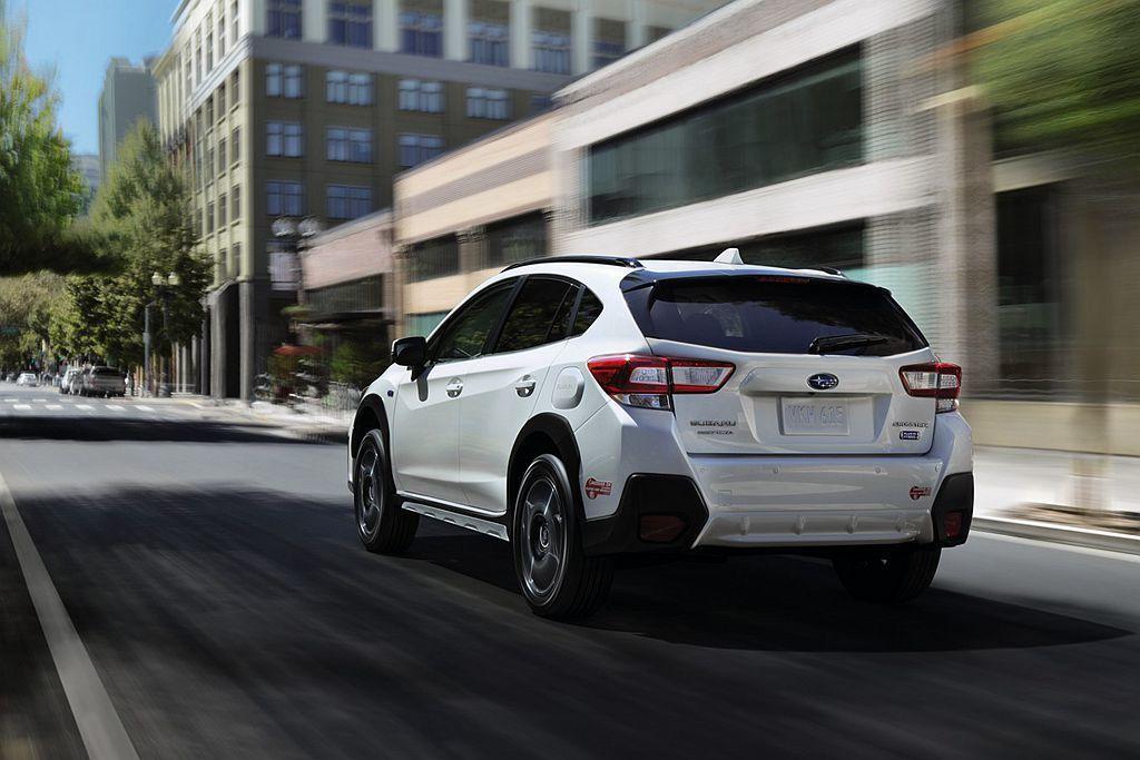 Subaru Crosstrek Hybrid在純電模式下時速最高可達104.6km/h,同時平均油耗表現更上看38km/L。 圖/Subaru提供