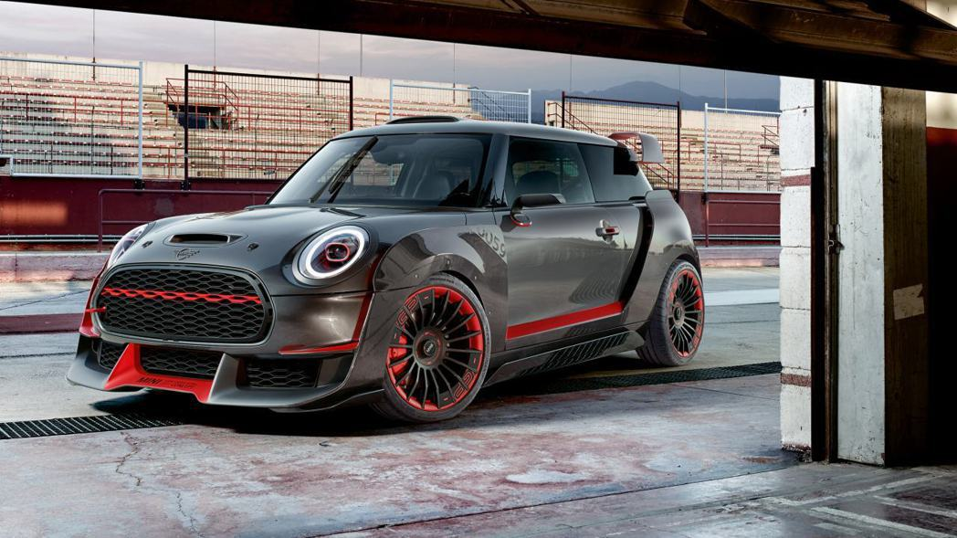 Mini John Cooper Works GP Concept。 摘自Mini