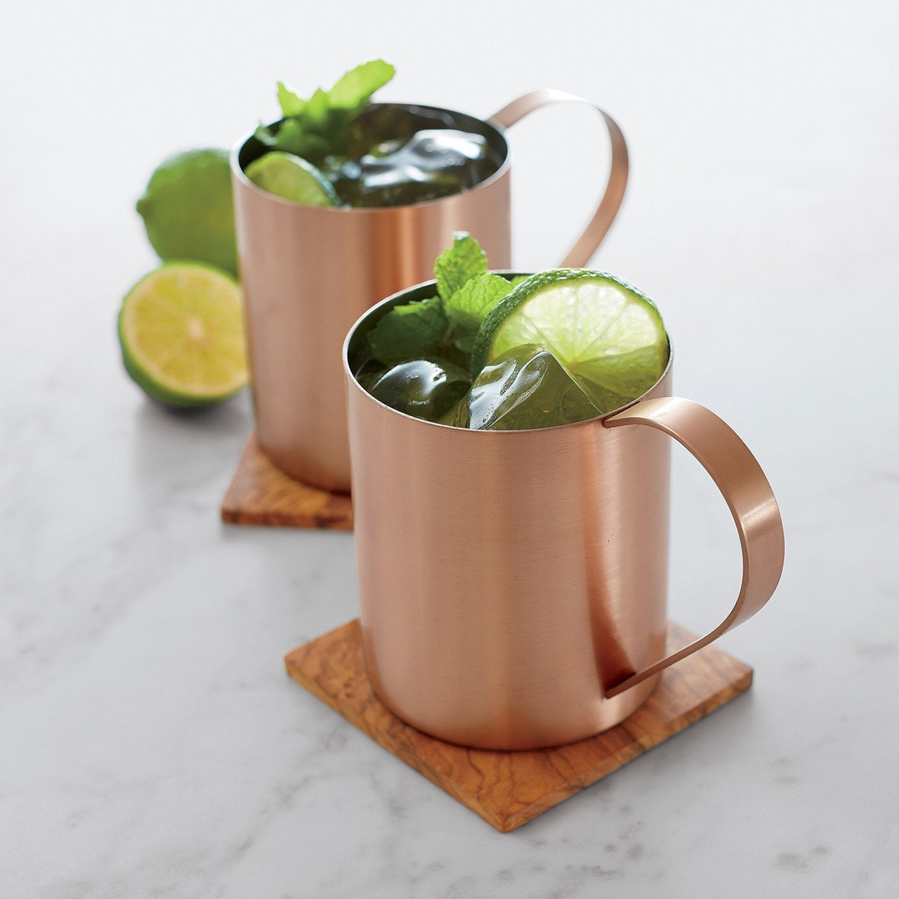Moscow Mule 莫斯科騾子杯。 Crate and Barrel/提供