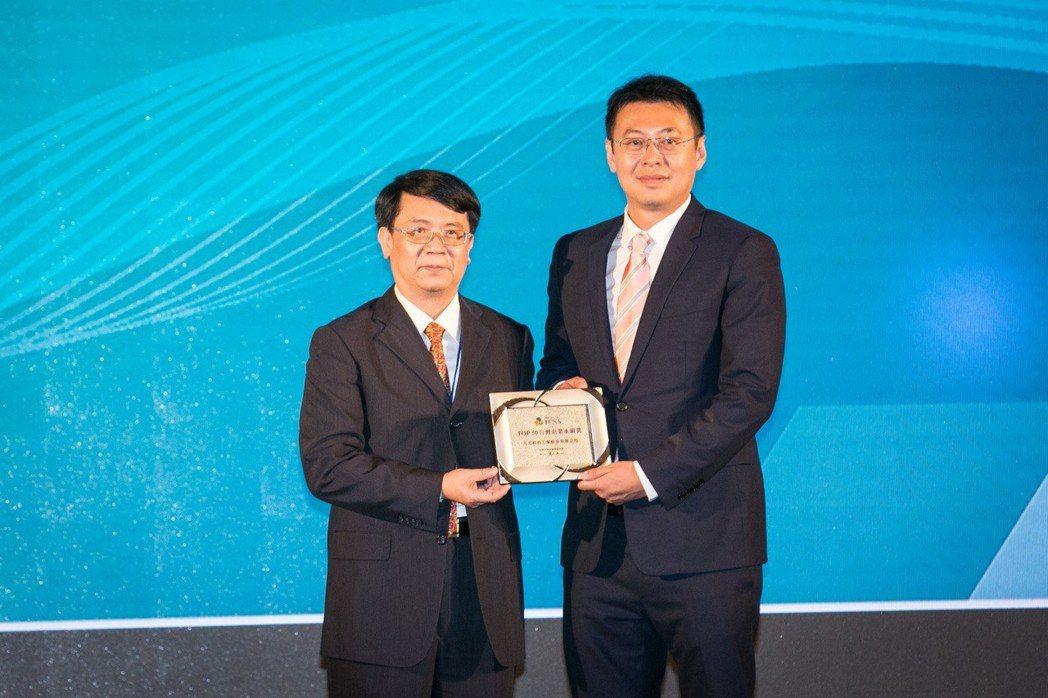 元太於TCSA台灣企業永續獎囊括三項大獎。圖/元太提供