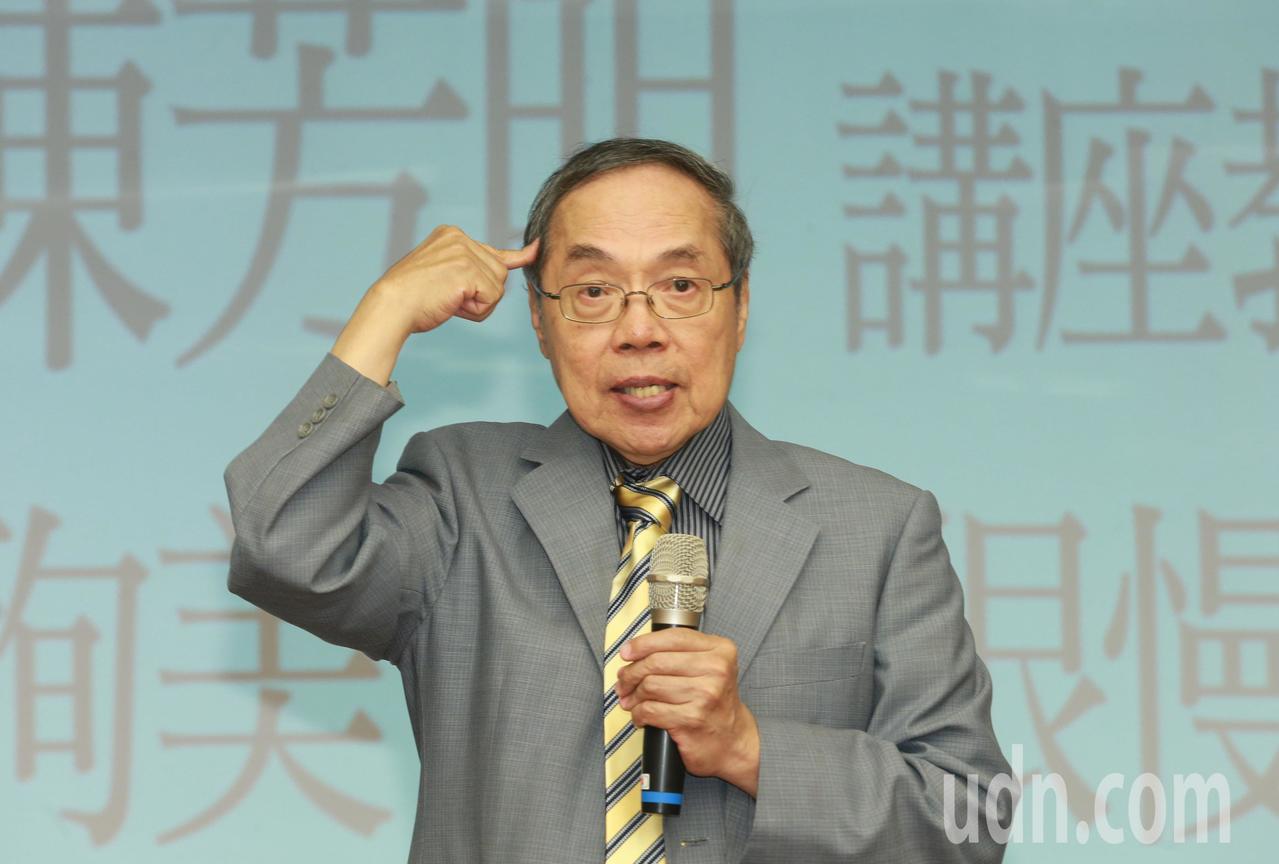 政治大學台灣文學研究所講座教授陳芳明。本報資料照/記者黃義書攝影