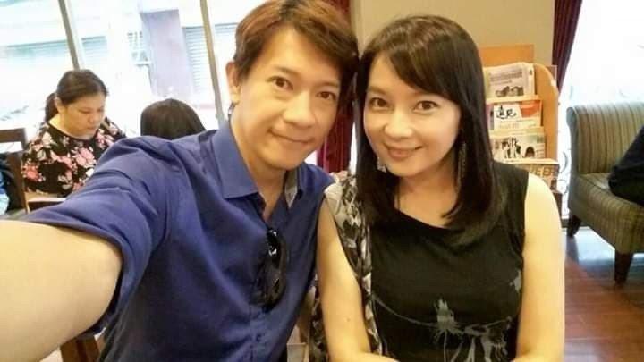 徐展元和谷懷萱甜蜜合照。圖/摘自臉書