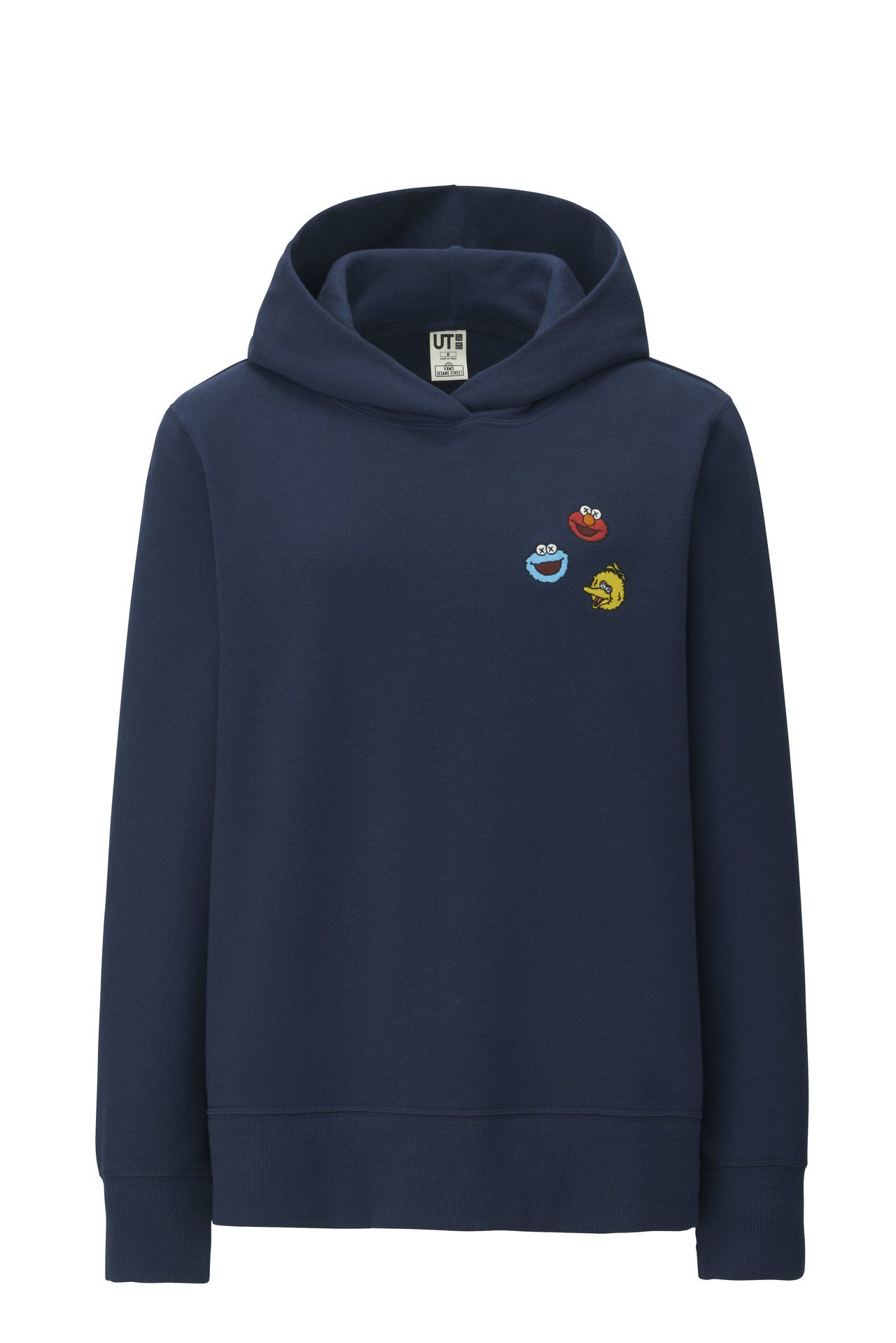 KAWS X SESAME STREET 休閒連帽上衣(女),售價790元。圖/...