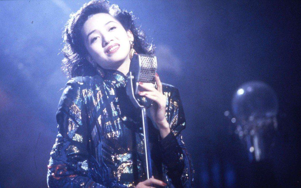 梅艷芳在「何日君再來」唱作俱佳,令人感動。圖/高雄市電影館提供