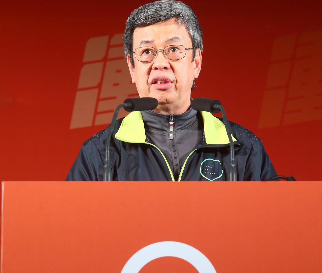 副總統陳建仁。聯合報系資料照/記者葉信菉攝影