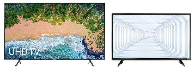 黑色購物節燦坤祭出買75型4K大電視送48型電視的超殺優惠。圖/燦坤提供