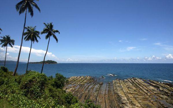 北森蒂納爾島位於孟加拉灣上。 (法新社)