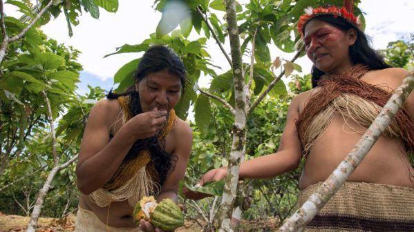 圖為瓦拉尼族婦女。 (法新社)