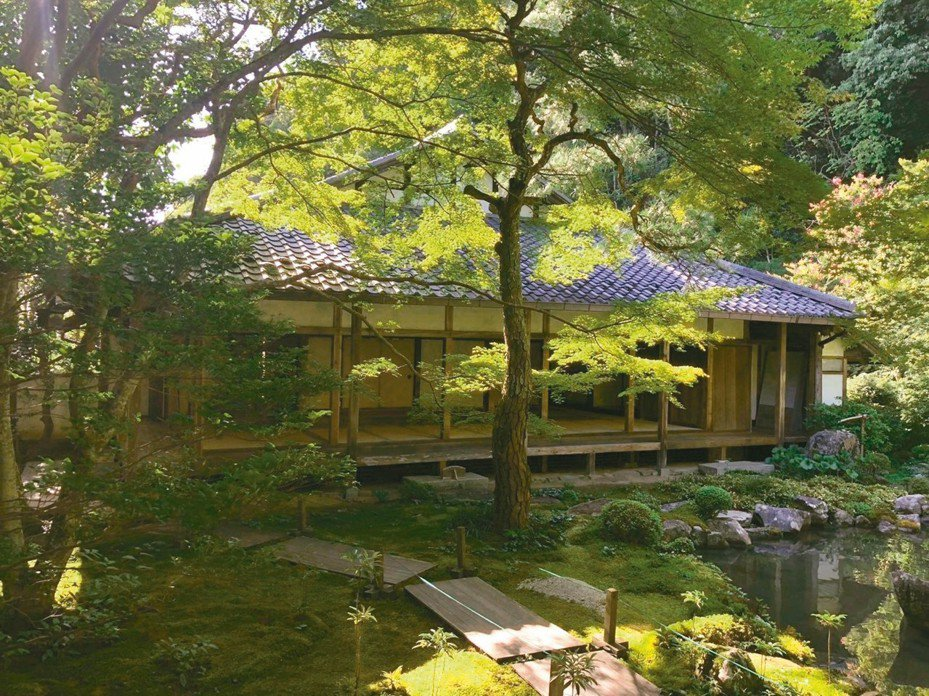 京都的美,讓謝小曼覺得很輕鬆。 圖/陳瑞憲提供