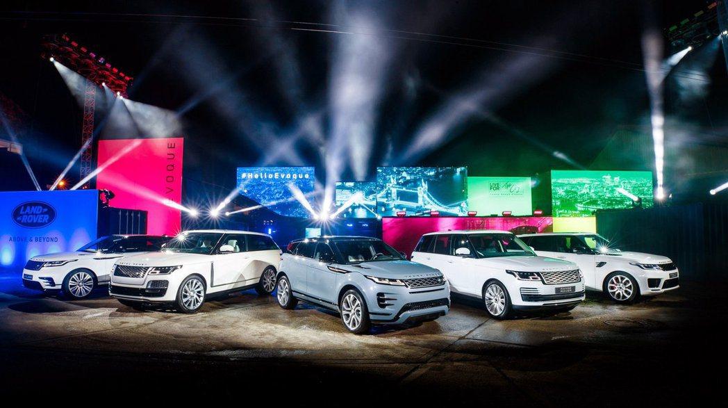 新世代Range Rover Evoque正式發表。 摘自Land Rover