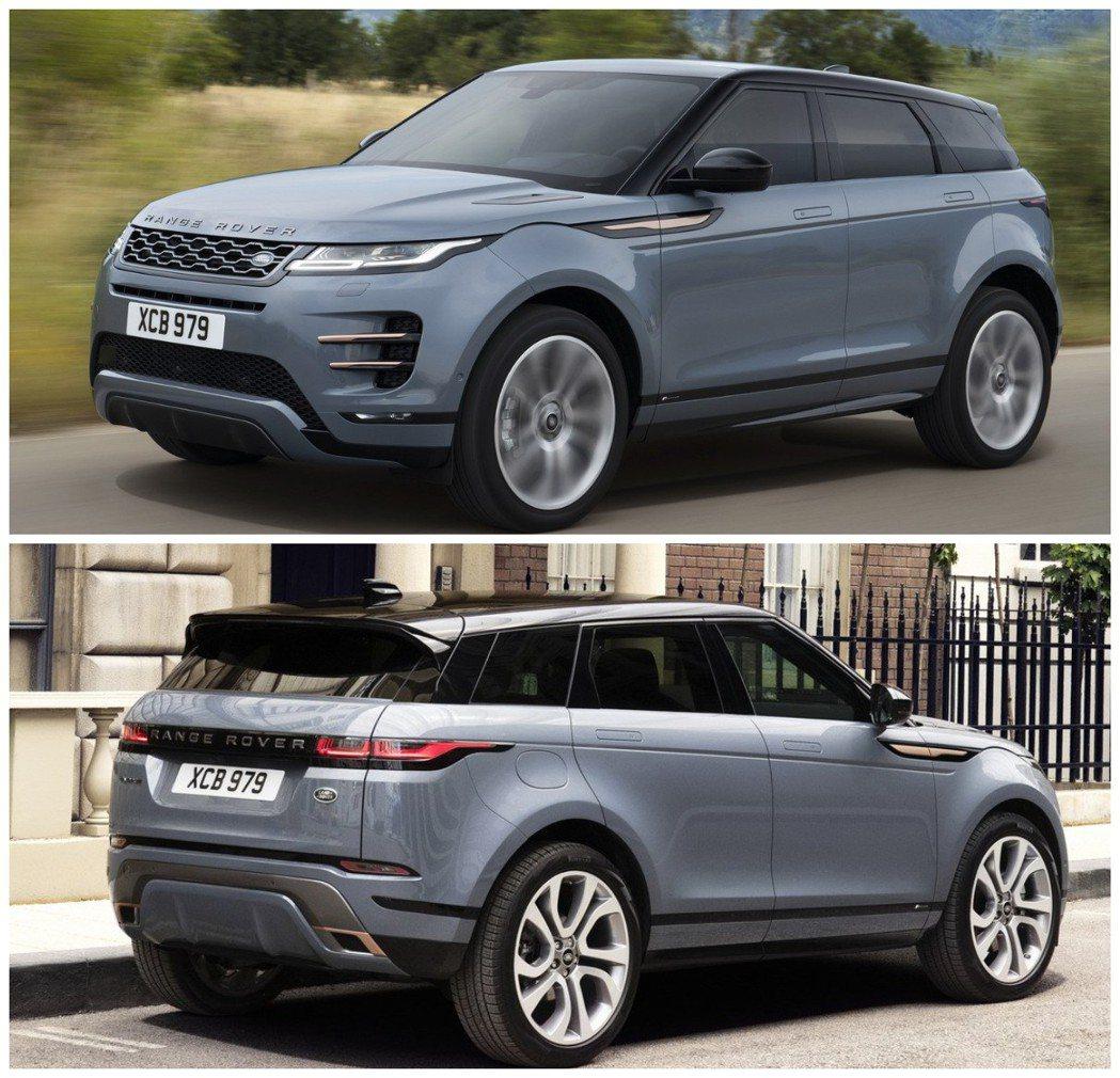 第二代Range Rover Evoque的外觀儼然小一號的Velar。 摘自L...