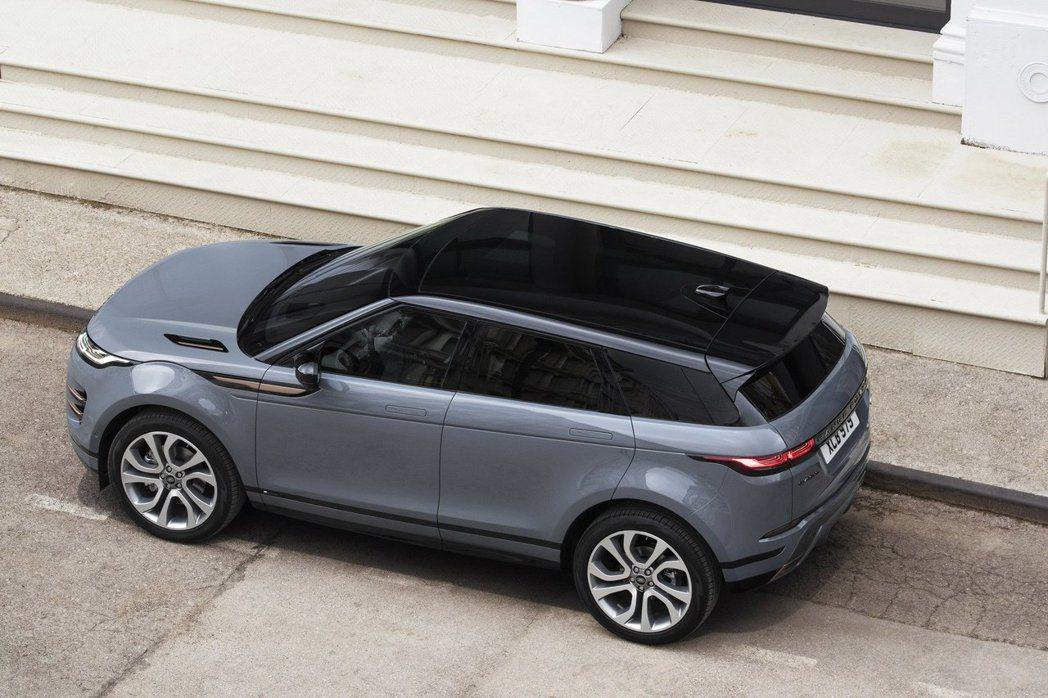 新世代Range Rover Evoque擁有4.37公尺的車長。 摘自Land...